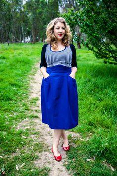 Peggy Skirt – Bluegingerdoll - Vintage Inspired Sewing Patterns, Indie sewing patterns, sewing tips and tricks