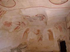 Mural, David Gareja Monastery, Georgia