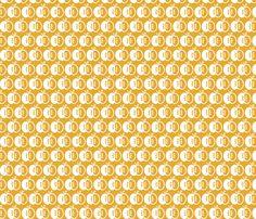 Golden Apples fabric by monda on Spoonflower - custom fabric