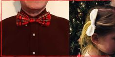 Cette année faites briller vos hommes pour Noël ou le réveillon ! Très simple à réaliser, confectionnez un nœud papillon en tissu en suivant ce tuto facile Self Tissu, Girly, Blog, Simple, Fashion, Choker, Couture Facile, Men, Women's