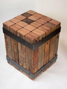 7 bancos feitos com sobras de madeira