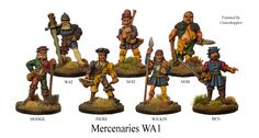 Wargames Foundry still manufacture Citadel models from the 70's and 80's