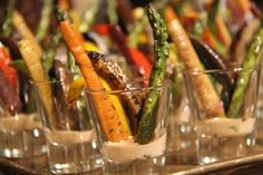 G Catering & Events, Grilled Vegetable Shooters