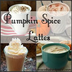Have you seen what's in Starbucks' #pumpkin spiced #latte ? Try one of these...where you can pronounce all the ingredients!