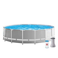 INTEX Prism Frame Piscine avec épurateur 457 x 122 cm Multicolore Intex Pool, Summer Waves, En Stock, Poker Table, Frame, Furniture, Home Decor, Swiming Pool, Piscine Hors Sol