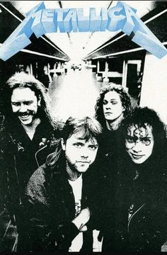 Metallica with Jason Newsted.