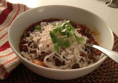 Granny's Slow Cooker Vegetarian Chili. Photo by LJeffTheChef