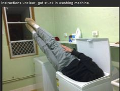 Instructions unclear got dingus stuck in washermachine http://ift.tt/2fbE6tZ