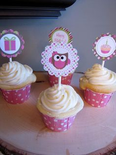Adorable Owl Themed Birthday Party... Must use ideas!