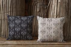 Aapiste - Design by Riikka Kaartilanmäki Cat Cushion, Forest Cat, Cushions, Throw Pillows, Traditional, Prints, Collection, Design, Toss Pillows