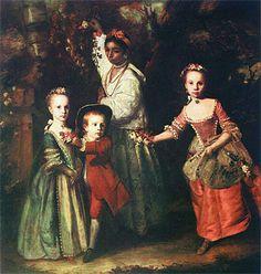 Reynolds, Joshua. The Children of Edward Holden Cruttenden. 1759.