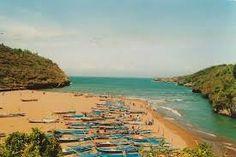 Pantai Baron Yogyakarta - simon riz