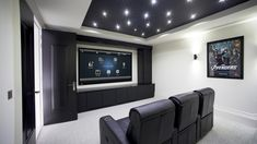 We are dedicated Custom smart home theater system design & installers solutions in NJ, NY, CT offers home music room, audio video installation setup and best home theater installation services in your areas. New Home Theatre, At Home Movie Theater, Home Theater Setup, Home Theater Speakers, Home Theater Rooms, Home Theater Seating, Cinema Room, Home Theater Projectors, Home Theater Design