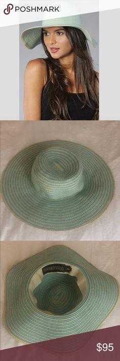 """Goorin Bros """"Eden"""" Extra Wide Floppy Brim Sun Hat Goorin Bros floppy hat, sold out online. In amazing shape, only worn a few times. Accessories Hats"""