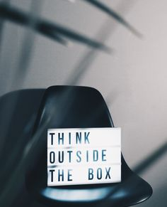 Think Outside The Box . What Do You Feel, How Are You Feeling, Let It Be, Bad Boy Quotes, Believe, Grant Cardone, Hapkido, Go Getter, Think Big