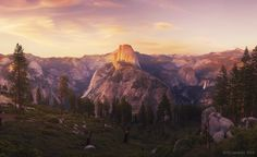 Photograph Eyes Over Yosemite by Peter Coskun on 500px