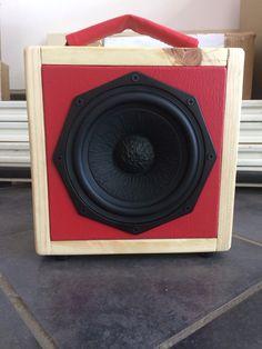 Handmade Wooden Boom Box by Tshepo Sedumo I Grove Audio