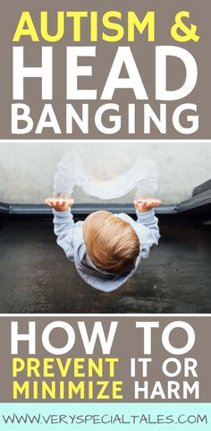 Head-banging is present at higher rates in kids with autism or cognitive delays. Prevention and minimizing harm is vital. These prevention tips address the most common reasons why kids may self-harm themselves. Social Skills Activities, Autism Activities, Autism Resources, Sorting Activities, Sensory Activities, Therapy Activities, Therapy Ideas, What Is Autism, Autism Help