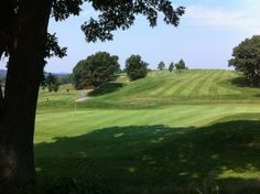 Presidents Golf Course - great views, and great sledding in the winter