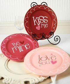 Love Plate Set