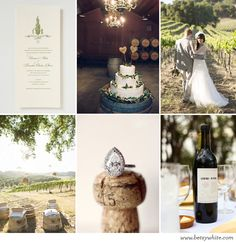 Inspiration: A Lovely Wine Country Wedding