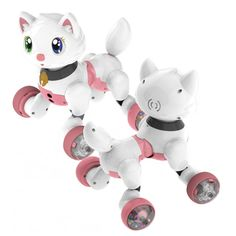 Voice Control Electronic Dog Cat Robot Smart Sounding Interactive Dance Sing Walking Puppy Action With Gesture Sensing Toys Dance Sing, Smart Robot, Best Kids Toys, Electronic Toys, Toy Sale, Toy Storage, Educational Toys, Pet Toys, Cool Toys