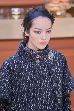 Pin for Later: This Autumn a Hairband Is the Only Hair Accessory You Need Chanel