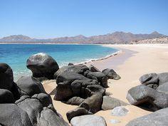 Beach at Bahia Los Frailes, Cabo Pulmo