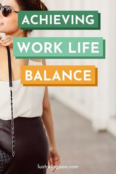 Achieving work-life balance can help you be more successful in every area of your life. Here are 7 easy habits you can start doing today! Work Life Balance Tips, Work From Home Tips, Get Your Life, Time Management Tips, Blogging For Beginners, Have Time, Better Life, Personal Development, Life Lessons