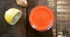 Inkiväärillä ja kurkumalla terästetty porkkanamehu auttaa kehoa puhdistautumaan Pudding, Desserts, Food, Deserts, Custard Pudding, Puddings, Dessert, Meals, Yemek