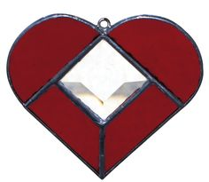 Made with Stained Glass Heart Suncatcher Project Kit