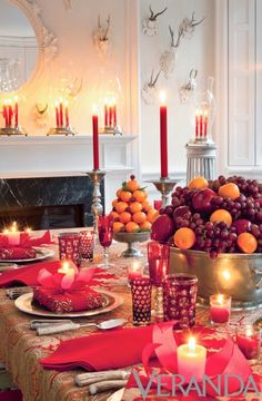 The French Tangerine: ~ colorful glassware: part 1