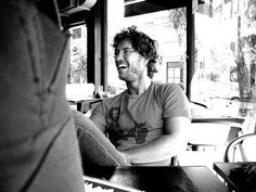 Serious crush on Blake Mycoskie - founder of TOMS. Such an amazing story!