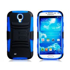 Rugged Blue Protective Case for Samsung Galaxy S4