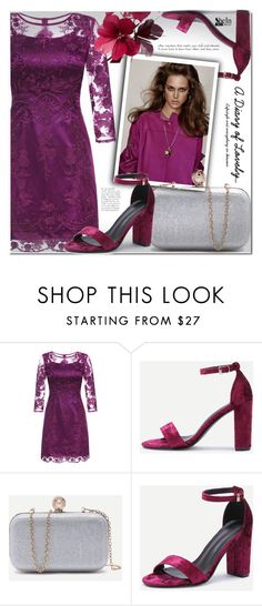 """""""Shein 8"""" by cherry-bh ❤ liked on Polyvore featuring Valentino and shein"""
