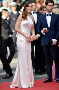 Cannes 2014 Best Dressed: Hilary Swank Makes a Glamorous Return | Vanity Fair