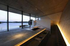 Beautiful use of recessed lighting | Yamamori Architect & Associates | Japan