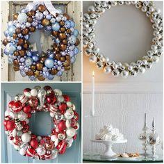 SylviaMade: W poszukiwaniu świątecznego DIY - Part 2 - WIEŃCE ŚWIĄTECZNE