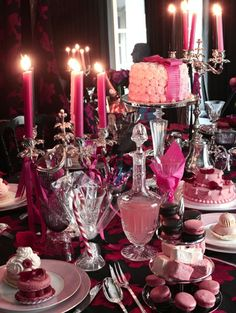 Christmas table by Lanvin