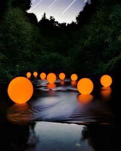 Barry Underwood - stellar light installations