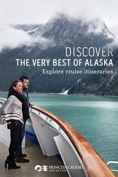 Home to majestic glaciers and jaw-dropping national parks -- Alaska is nature on an epic scale. No one helps you experience this wild frontier better than Princess. Choose from a variety of itineraries, including our 7- to 10-day voyages and acclaimed Land & Sea Vacations. Start planning the experience of a lifetime today.