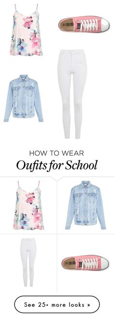 """""""Back To School : Outfit Ideas"""" by kyliemadi0427 on Polyvore featuring Dorothy Perkins, Topshop and New Look"""