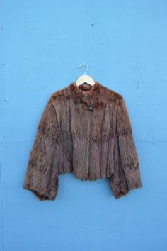 Vintage fur coat Available on my Etsy shop!