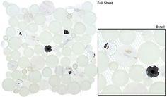 Glazzio Tiles Dot Mosaic Symphony Bubble Series