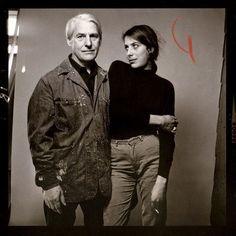 Susan Brockman & Willem de Kooning - Richard Avedon