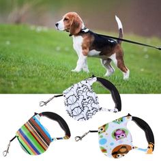 Cute Print Dog Lead Retractable Dog Leash 5m