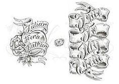 tattoo chicano letters - Buscar con Google