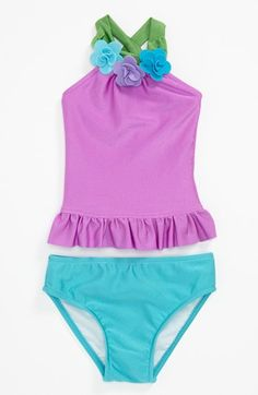 Love U Lots Two Piece Swimsuit (Baby) available at #Nordstrom