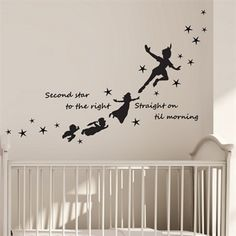 Wallstickers - Peter Pan