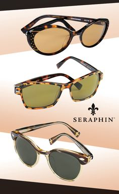 Seraphin Sunnies for the 'Romantic Heroine': http://eyecessorizeblog.com/?p=4516
